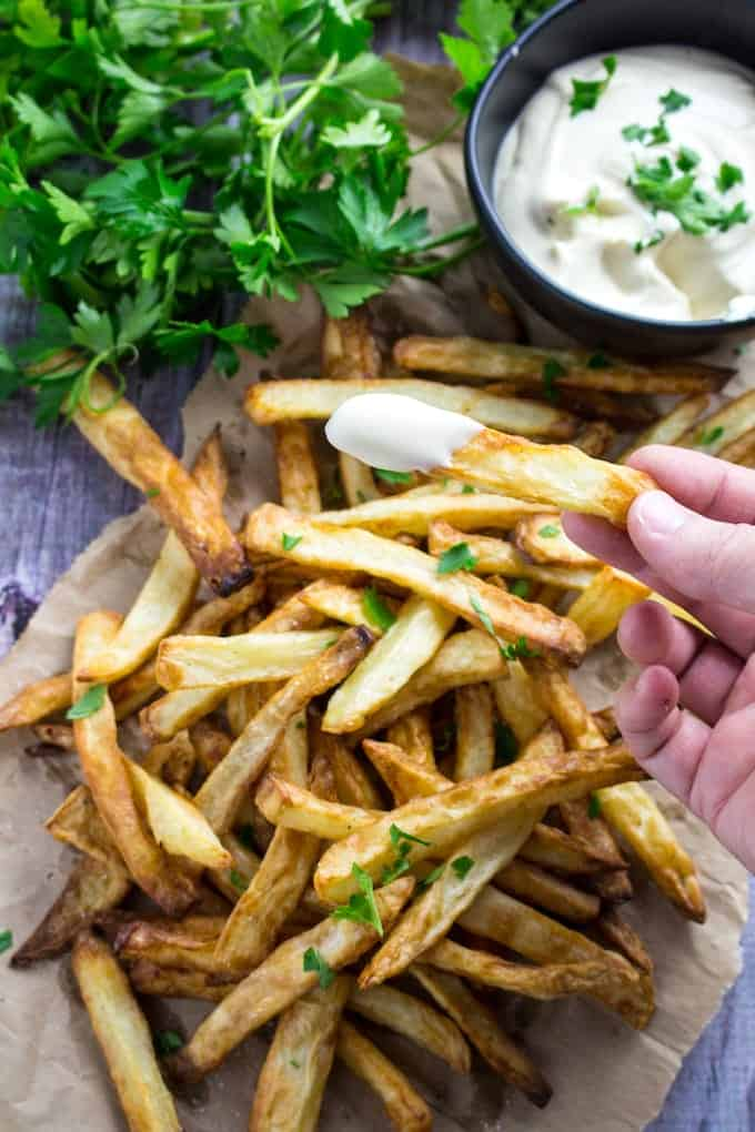 air fryer french fries homemade