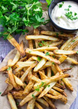 gluten free french fries air fryer