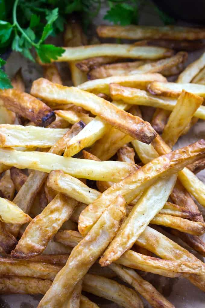 homemade french fries air fryer