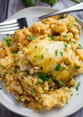 instant pot chicken and spanish rice