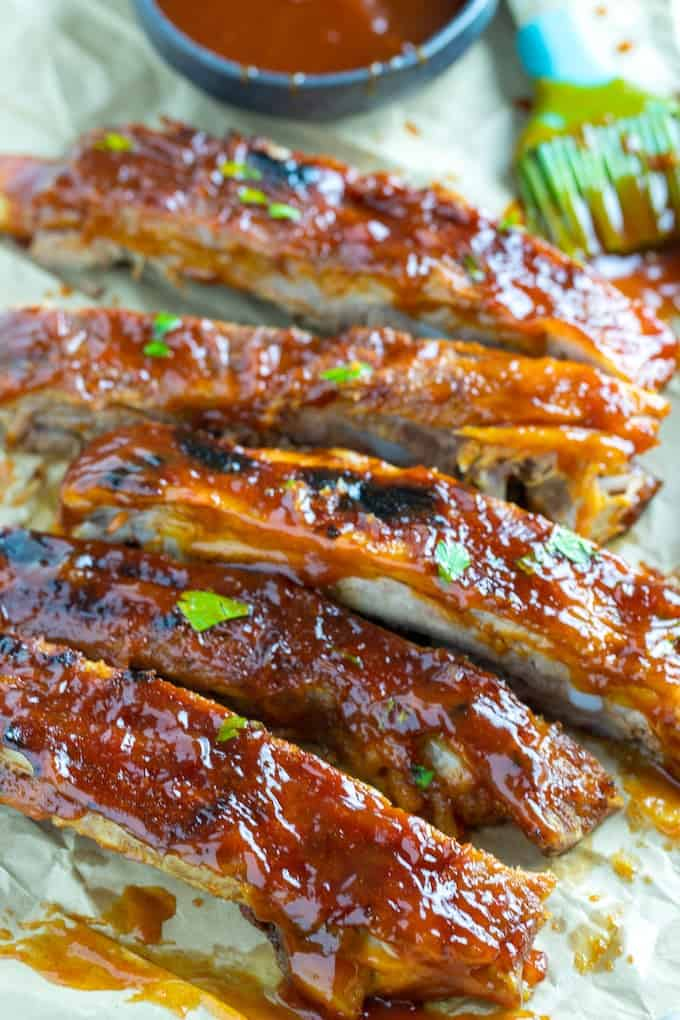 Instant pot ribs recipe