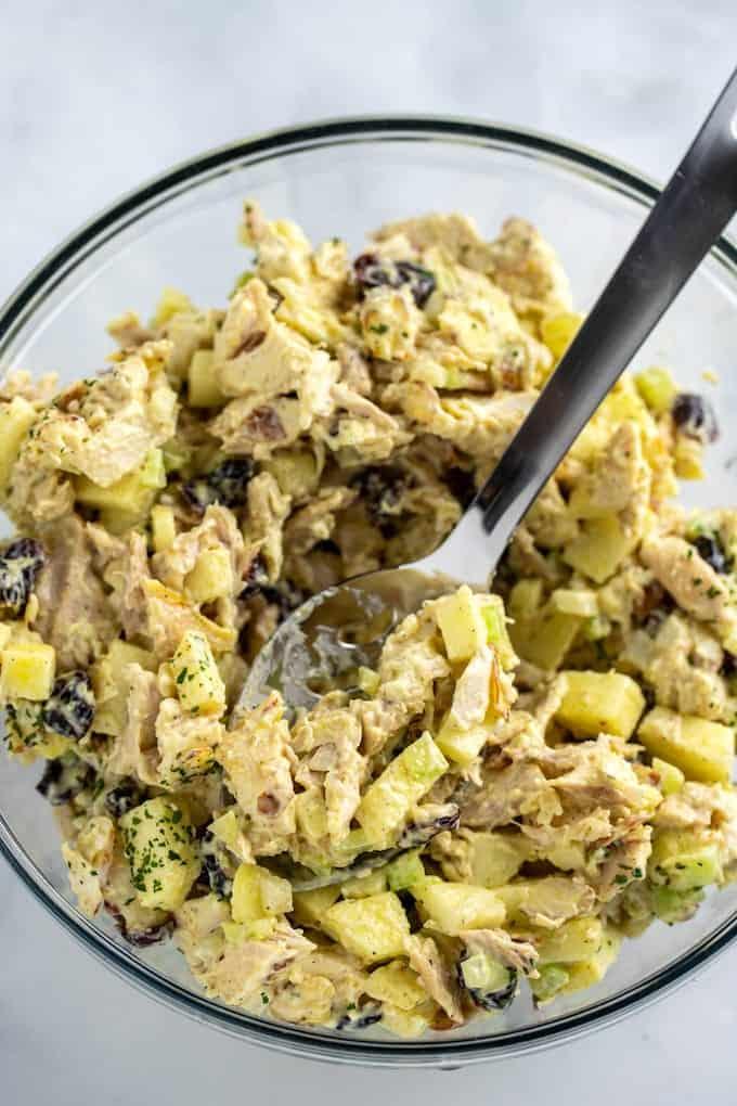 chicken salad with rotisserie chicken