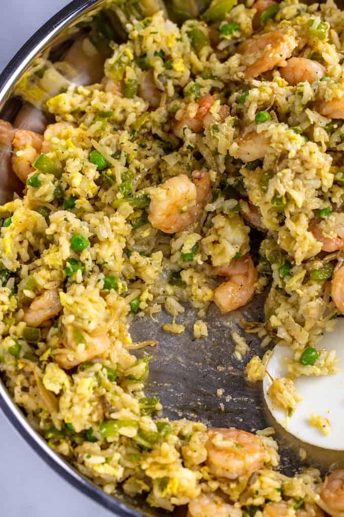 easy shrimp fried rice homemade