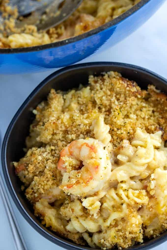 shrimp mac and cheese